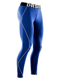 Men's Thermal Wintergear Fleece Cold Compression Tight Base Layer Long Under Sport Leggings Pants