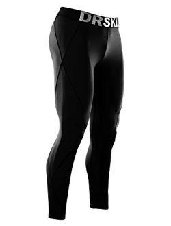 Men's Compression Pants Sports Tights Leggings Baselayer Running Workout Active Cool Dry Yoga Gym Rashguard