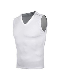 Men's Thermal Wintergear Fleece Coldgear Compression Baselayer Long Sleeve Under Top T Shirts