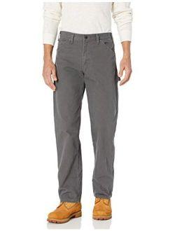 Men's Relaxed Fit Straight-leg Duck Carpenter Jean