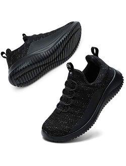 Kids Shoes Girls Boys Lightweight Slip On Walking Sneakers