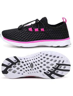 Kids Water Shoes Boys & Girls Lightweight Sport Athletic Sneakers For Summer Beach Swim Pool
