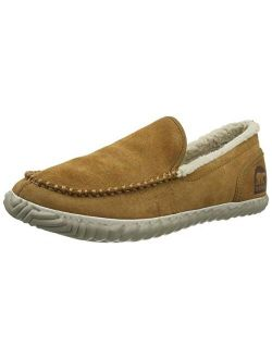 - Men's Sorel Dude Moc House Slippers And Faux Fur Lining