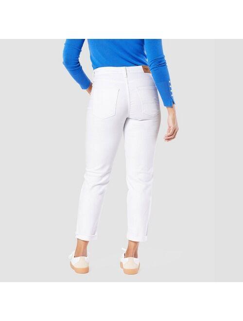 DENIZEN from Levi's DENIZEN® from Levi's® Women's Mid-Rise Slim Fit Cropped Boyfriend Jeans