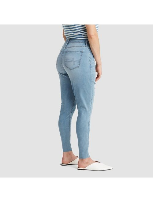 DENIZEN from Levi's DENIZEN® from Levi's® Women's Distressed Curvy High-Rise Jeggings - (Juniors')