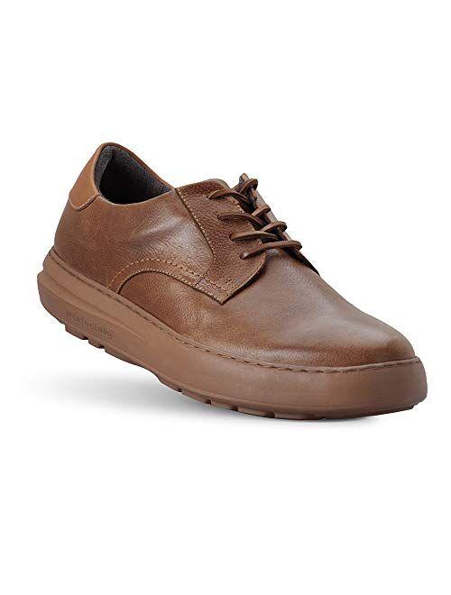 Gravity Defyer Men's G-Defy Oskar Casual Shoes - VersoCloud Multi-Density Shock Absorbing Leather Dress Shoes