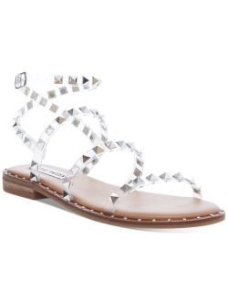 Women's Travel Rock Stud Flat Sandals