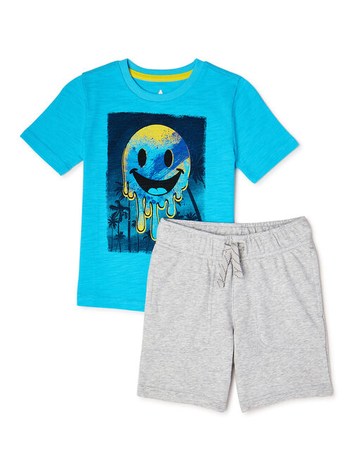 365 Kids From Garanimals Boys Kid-Pack Gift Box, 8-Piece Outfit Set, Sizes 4-10