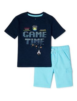 Boys' Game Time Outfit Set, 2-pieces, Sizes 4-10