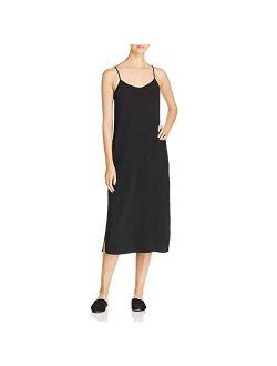 Womens Tencel Crepe Casual Dress