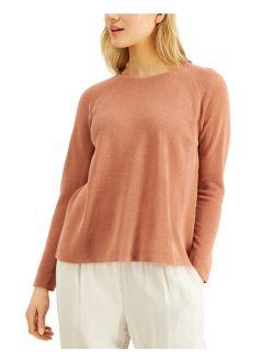 Relaxed Raglan-Sleeve Sweater