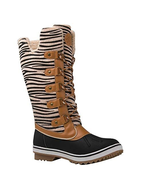 GLOBALWIN Women's Stella Winter Snow Boots