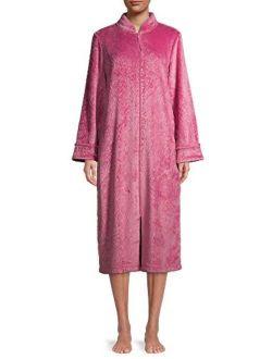 Easures Long Front Zip Up Robe - Duster