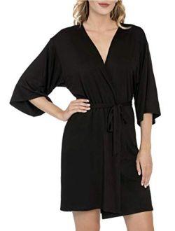 Black Soot Knit Robe