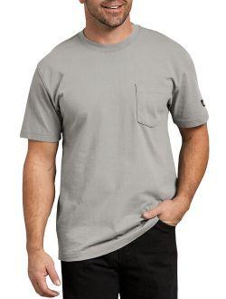 Mens And Big Mens Performance Short Sleeve Heavyweight Pocket T-shirt