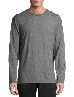 Men's Active Yoga Long Sleeve T-shirt, Up To 2xl