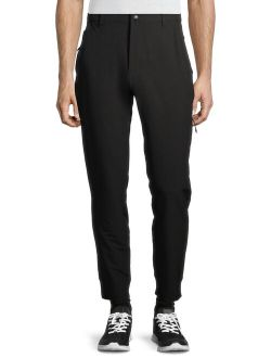 Men's Athletic Woven Tech Pants, Up To 5xl