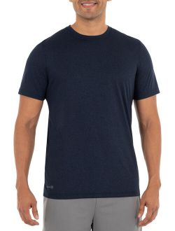 Men's And Big Men's Core Jersey Hybrid T-shirt, Up To Size 5xl