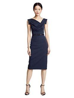 Women's Jackie O Belted Dress