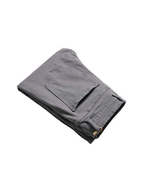 OBT Boys Distressed Ripped Destroyed Big Holes Slim Fit Skinny Jeans Denim Pants