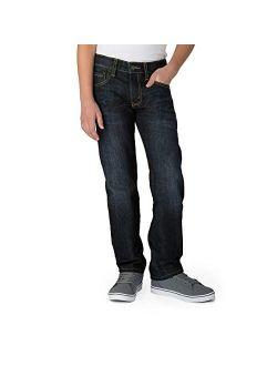Gold Label Big Boys' Slim Straight Fit Jeans