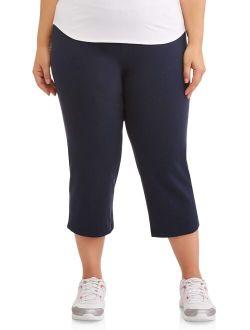 """Women's Plus Size Dri More 22"""" Core Capri"""