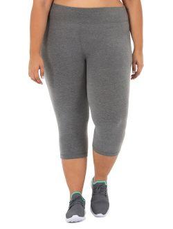 Women's Plus Size Core Active Capri Legging