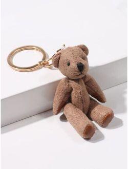 Bear Charm Keychain