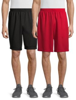 Men's Dazzle Shorts, 2-pack, Up To 5xl
