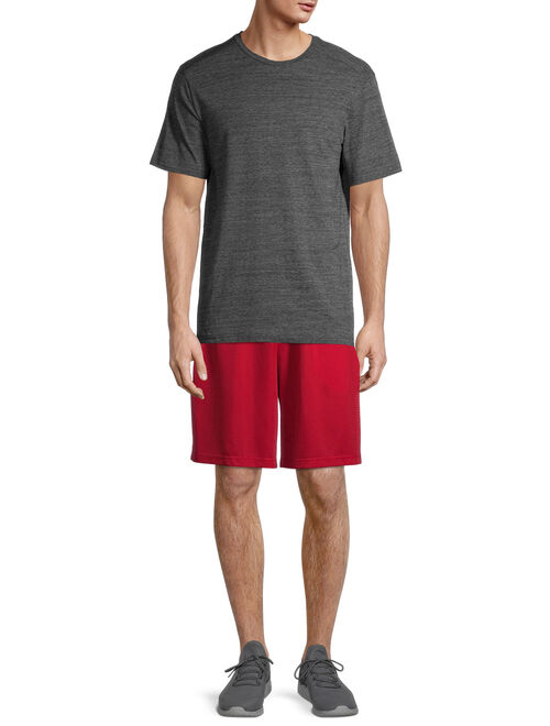 Athletic Works Men's Dazzle Shorts, 2-Pack, up to 5XL