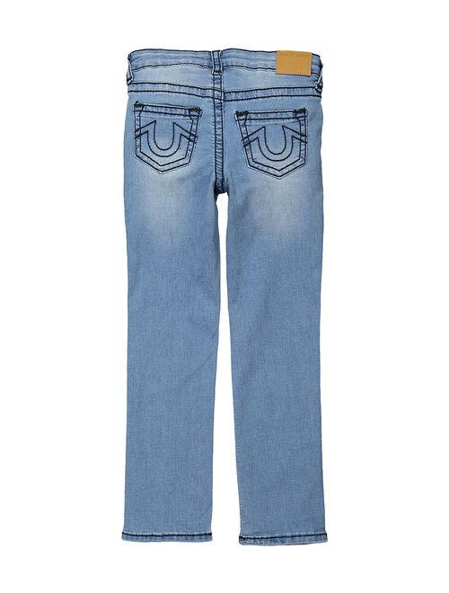 Blue Note Wash Geno Big T Straight-Leg Jeans - Boys