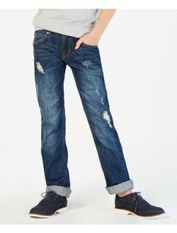 Big Boys Regular-Fit Niagara Distressed Stretch Jeans
