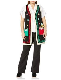 Women's Ugly Christmas Sweater Vest