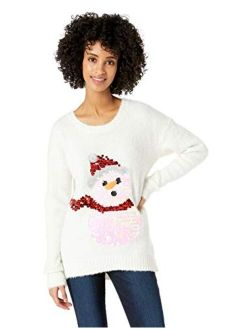 Women's Ugly Christmas Snowman Sweater