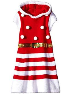 Girls Ugly Chrismas Sweater Dress