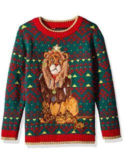Boys Ugly Chrismas Sweater Animals