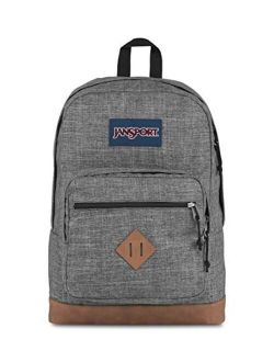 City View Backpack, Heathered 600d
