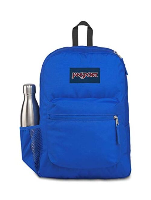 Jansport   Cross Town Backpack (Border Blue - One Size)