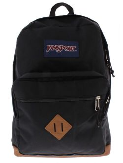 Mens City View Laptop Faux Leather Vintage Backpack