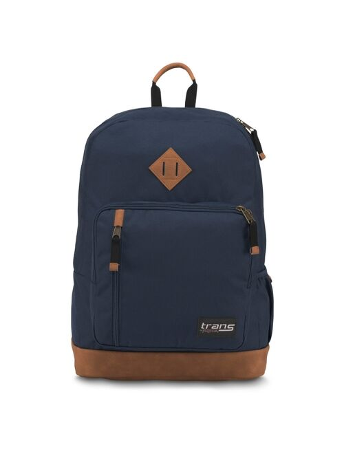 "Trans by JanSport Dakoda 17"" Solid Backpack - Navy"