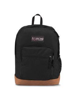 """Jansport Super Cool 17"""" Vintage  Backpack - Black"""