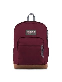"""Jansport 17"""" Super Cool Vintage  Backpack - Russet Red"""