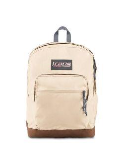 """Jansport 17"""" Super Cool Vintage Backpack - Soft Tan"""