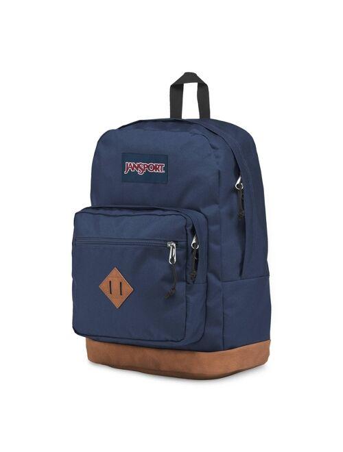 "JanSport 18"" City View vintage Backpack - Navy"