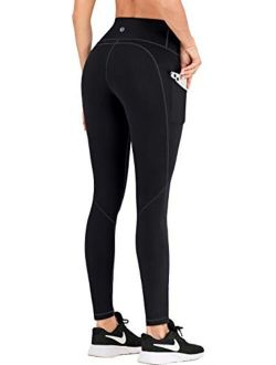 Leggings With Pockets For Women High Waisted Yoga Pants For Women Butt Lifting Workout Leggings For Women With 4 Pockets