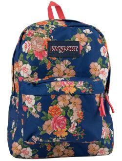 Superbreak Paper Floral Print Backpack
