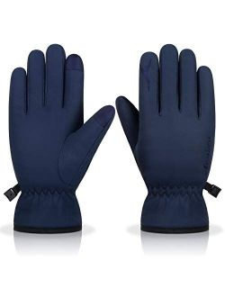 Winter Thermal Gloves Windproof Warm Touchscreen Gloves Men Women For Cycling Running Outdoor Activities