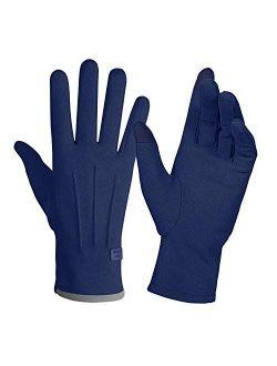 Women Winter Touchscreen Gloves Thin Soft Comfortable Warm Elastic