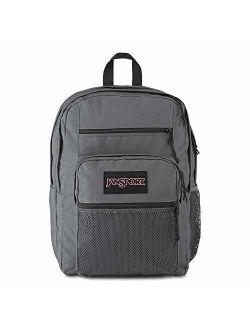 "Big Campus Backpack - Lightweight 15"" Laptop Bag Deep Grey"