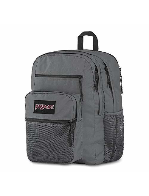 """Jansport Big Campus Backpack - Lightweight 15"""" Laptop Bag Deep Grey"""